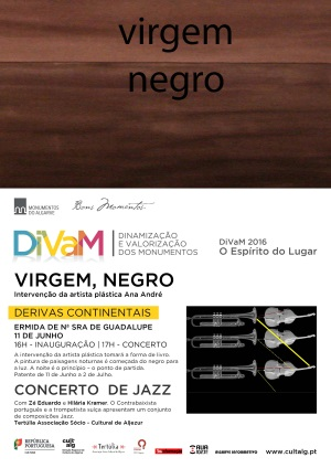 "Cartaz ""Virgem Negro"""