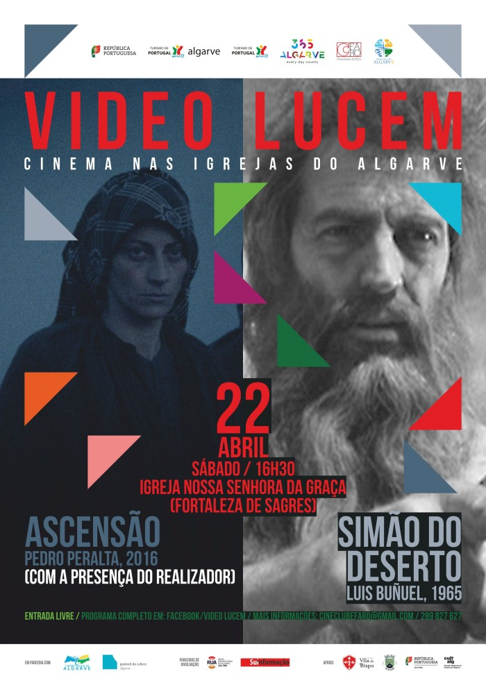Cartaz - Video Lucem - Fortaleza de Sagres 22/4
